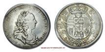 World Coins - Grand Duchy of Tuscany Francis I Holy Roman Emperor 1/2 FRANCESCONE 1738 Florence SILVER RARE (R) italian coin