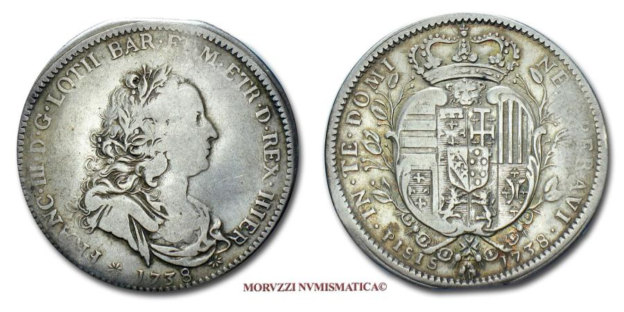 Grand duchy of tuscany francis i holy roman emperor 1 2 for Coin firenze