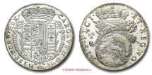 World Coins - Kingdom of Naples Charles II of Spain TARI' 1686 Neaples SILVER near UNCIRCULATED italian coin