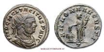 Ancient Coins - Tacitus BILLON ANTONINIANUS 275-276 AD ANNONA AVGVSTI T Ticinum Roman coin for sale