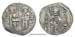 World Coins - Michael Asen III (Michael Shishman) Tsar of Bulgaria SILVER Groschen 1323-1330 Veliko Tarnovo 50/70 VERY RARE (RR)