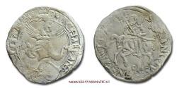 World Coins - Carmagnola Michele Antonio Marquess of Saluzzo CORNUTO SILVER RARE (R) italian coin