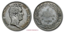 World Coins - FRANCE LOUIS PHILIPPE I 5 FRANCS 1830 A PARIS RARE (R) french coin