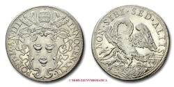 World Coins - PAPAL STATES INNOCENT XII 1/2 PIASTRA 1693 A. III papal coin