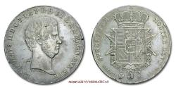 World Coins - Grand Duchy of Tuscany Leopold II FRANCESCONE 1856 Florence SILVER 45/70 Italian coin for sale