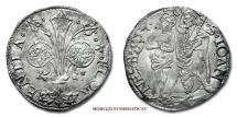 World Coins - Republic of Florence BARILE 1512 2nd semester Angelo Carducci (55/70) SILVER RARE (R) Italian coin for sale