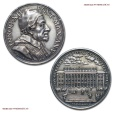 World Coins - Papal States INNOCENT XII Original Silver Annual Medal 1696 Opus Giovanni Hamerani papal medal