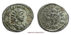 Ancient Coins - MAXIMIANUS HERCULEUS ANTONINIANUS 287-288 AD HERCVLI PACIFERO / B SML Lugdunum 55/70 Roman Imperial coin for sale