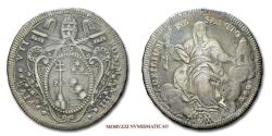 World Coins - Pope Pius VII SCUDO 1802 AN III (number 1 of the date inverted) SILVER 30/70 (Pagani 60a) Papal coin for sale