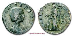 Ancient Coins - Julia Maesa SESTERTIUS 218-222 AD SAECVLI FELICITAS / S C RARE (RIC 421/S) Roman Imperial coin for sale