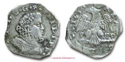 World Coins - Kingdom of Sicily Philip IV of Spain 4 TARI' 1652 ? Messina SILVER italian coin