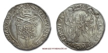 Papal States SIXTUS IV GROSSO 1471-1484 papal coin