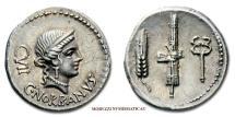 Ancient Coins - GENS NORBANA C.Norbanus SILVER DENARIUS 83 BC Venus Roman coin for sale