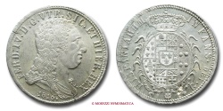 World Coins - Kingdom of Naples Ferdinand IV of Bourbon PIASTRA DA 120 GRANA 1816 RARE (R) World & Italian coin for sale