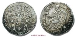 World Coins - PAPAL STATES URBAN VIII TESTONE 1632 ROME VERY RARE (RRR) papal coin
