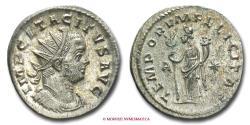 Ancient Coins - Tacitus BILLON ANTONINIANUS 275-276 AD TEMPORVM FELICITAS - A Roman Imperial coin for sale