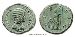 Ancient Coins - Julia Domna AE AS 212 AD CEREREM / S C 52/70 RARE (R) Roman coin for sale