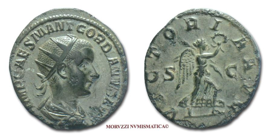 Ancient Coins - Gordian III AE DUPONDIUS 238-239 AD VICTORIA AVG S C RARE (R) Roman coin for sale