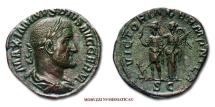 Ancient Coins - Maximinus I Thrax SESTERTIUS 236-238 AD VICTORIA GERMANICA SC RARE (R) Roman coin for sale