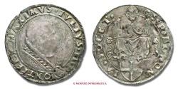 World Coins - PAPAL STATES JULIUS II GIULIO (?) VERY RARE (RRR) papal coin