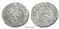 World Coins - PAPAL STATES URBAN VIII BARBERINO 1631 AVIGNON VERY RARE (RR) papal coin