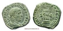 Ancient Coins - Philip I the Arab SESTERTIUS 248 AD MILIARIVM SAECVLVM S C RARE (R) Roman coin for sale