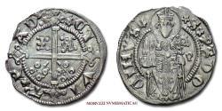 World Coins - Padua Jacopo II da Carrara CARRARINO DA 2 SOLDI SILVER 45/70 SCARCE (NC) Italian coin for sale