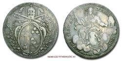 World Coins - Pope Pius VII SCUDO 1800 AN I SILVER 30/70 Papal coin for sale