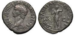 Ancient Coins - CLAUDIUS. 41 AD As. CONSTANTIAE
