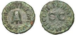 Ancient Coins - CLAUDIUS. Æ. Quadrans. MODIUS. A.D. 41