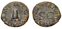 Ancient Coins - CLAUDIUS. Æ. Quadrans. MODIUS. 41 d.C.