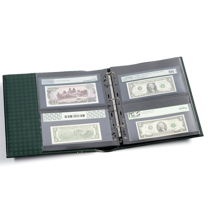 Ancient Coins - Grande Classic Graded Currency Album Set (black)