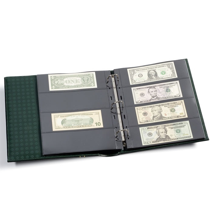 Ancient Coins - Grande Classic Currency Album Set (black)