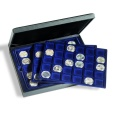Us Coins - Presidio presentation case for 90 coins or coin capsules up to 39mm