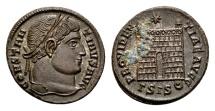 Constantine the Great AD 307-337, AE Follis Siscia / Ex Lückger