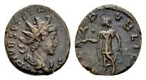 Ancient Coins - Tetricus II AD 271-274, AE Antoninianus (17mm, 3.10 gram) Mint I