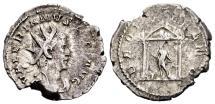Ancient Coins - Valerian AD 253-260, AR Antoninianus (25mm, 4.06 gram) Cologne