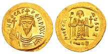 Ancient Coins - Phocas AD 602-610, Gold Solidus (22mm, 4.47 g) Constantinopolis