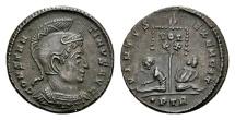 Constantine the Great AD 307-337, AE Follis Trier / Ex Lückger
