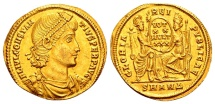 Constantius II AD 337-361, Gold Solidus (22/23mm, 4.45 g) Antioch AD 347-355