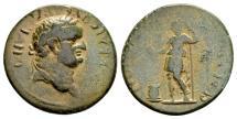 Ancient Coins - RPC Plate coin - Lydia, Sardis. Vespasian AD 69-79, AE 21mm (5.39 g), T. Flavius Eisigonos strategos