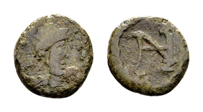 Ancient Coins - Zeno AD 476-491, AE Nummus (9mm, 0.81 g) Constantinopolis