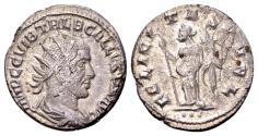 Ancient Coins - Trebonianus Gallus 251-253 AD, AR Antoninianus (20 mm, 4.24 gram) Antioch, first group 251-2, 3rd officina