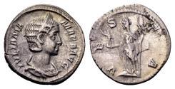 Ancient Coins - Julia Mamaea, mother of Severus Alexander AD 222-235, AR Denarius (19mm, 2.33 gram) Rome