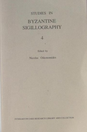 Ancient Coins - Studies in Byzantine Sigillography vol. 4, edited by N. Oikonomides (Dumbarton Oaks, Washington 1995).
