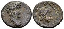 Ancient Coins - Judaea, Caesarea Maritima. Marcus Aurelius Caesar AD 139-161, AE 25mm (11.00 g)