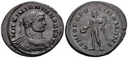 Ancient Coins - Galerius Caesar AD 293-305, AE Follis (28mm, 9.46 gram) London c. 296-303