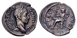 Ancient Coins - Severus Alexander 222-235, AR Denarius (20mm, 2,70 gram) Rome