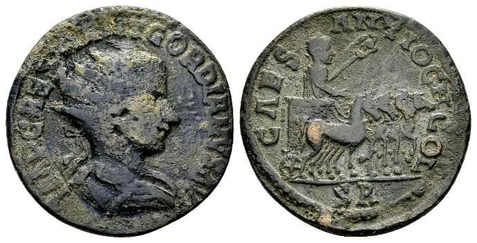 Ancient Coins - Pisidia, Antioch. Gordian III AE 27mm (12.56g)