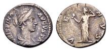 Crispina, AR Denarius (18mm, 3,37 g) Rome / Ex Lückger